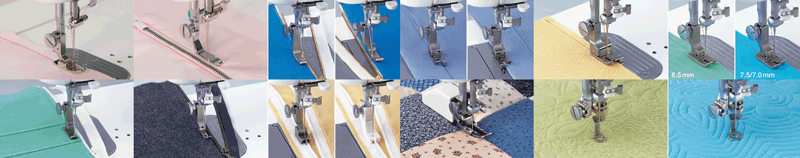 Швейные принадлежности для начинающих - прижимные лапки