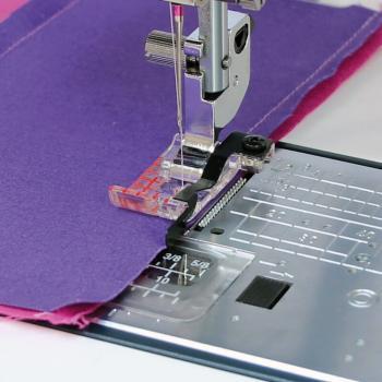"""Stopka krawędziowa 1/4"""" (6 mm) do ściegu prostego (do maszyn z szerokością ściegu 9 mm)"""