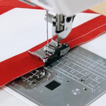 """Stopka krawędziowa 1/4"""" (6 mm) (do maszyn z szerokością ściegu 9 mm)"""