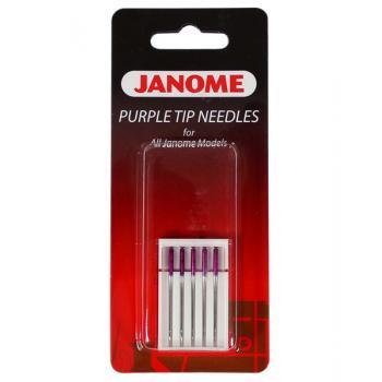 Igły Janome Purple Tip z kulką (5x90)