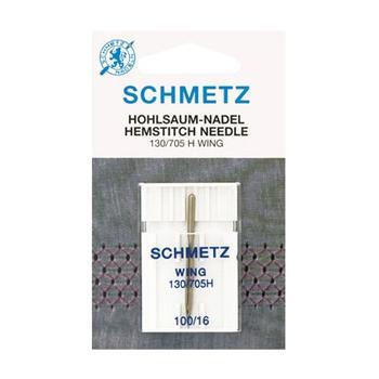 Igła Schmetz ze skrzydełkiem do mereżki 130/705H WING 1x100