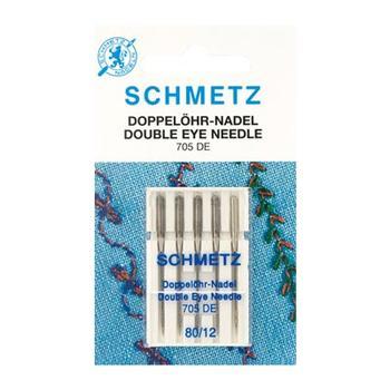 Igły do maszyn do szycia Schmetz z podwójnym okiem 5x80