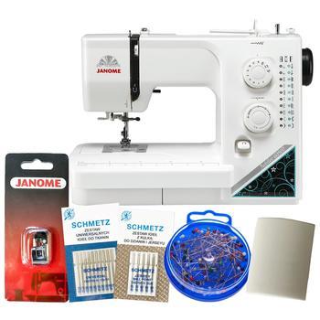 Maszyna do szycia Janome Jubilee 60507 z zestawem akcesoriów 2