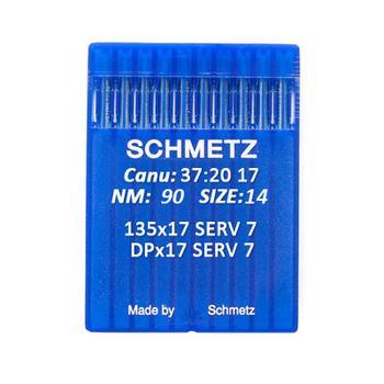 Igły Schmetz 135x17 SERV 7 do stebnówek do szycia tkanin (różne grubości)