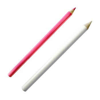 Kreda krawiecka długa - biała, kolor