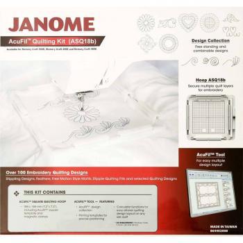 Zestaw do pikowania AcuFil do Janome MC400E, MC500E i Elna 830EX