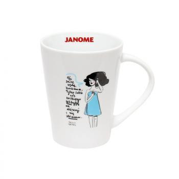 Kubek z porysunkiem Janome 2