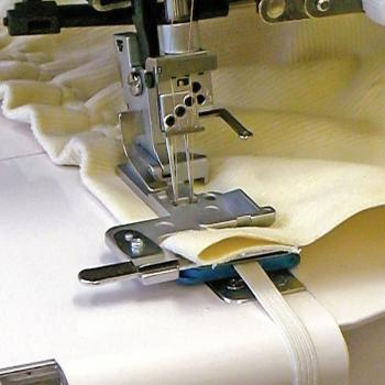 Naprężacz do wszywania gumy (13mm) do coverloków Janome