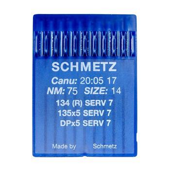 Igły Schmetz uniwersalne 135x5 SERV 7 (10x75)