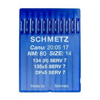 Igły Schmetz uniwersalne 135x5 SERV 7 (10x80)