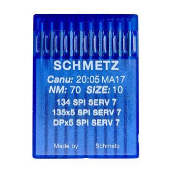 Igły Schmetz do tkanin 135x5 SPI SERV 7 (10x70)
