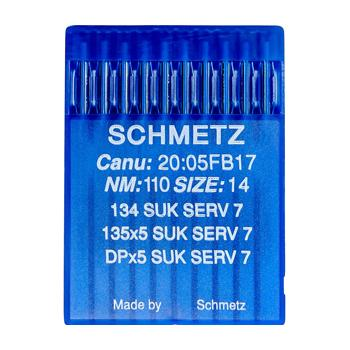 Igły Schmetz do dzianin 135x5 SUK SERV 7 (10x110)