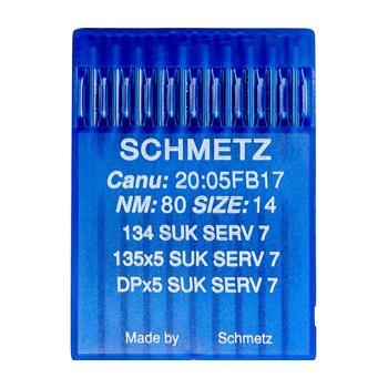 Igły Schmetz do dzianin 135x5 SUK SERV 7 (10x80)