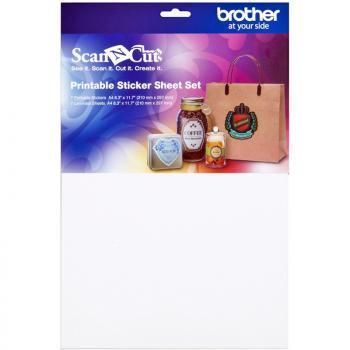 Zestaw materiałów do naklejek do ploterów Brother ScanNcut