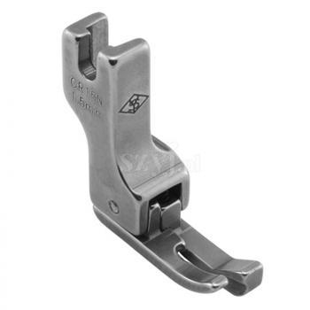 Stopka kompensacyjna wąska 1,5 mm (prawa) do stebnówek z transportem dolnym