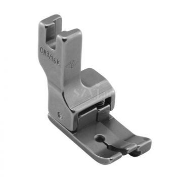 Stopka kompensacyjna 4,8 mm (prawa) do delikatnych materiałów do stebnówek