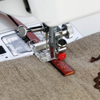 Stopka z rolkami do trudnych i syntetycznych materiałów (chwytacz wahadłowy)