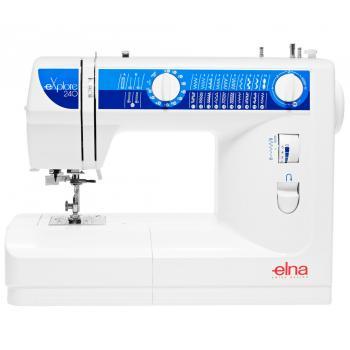 Maszyna do szycia Elna 240 eXplore + GRATIS 3 stopki, wykrój, nici i szpulki