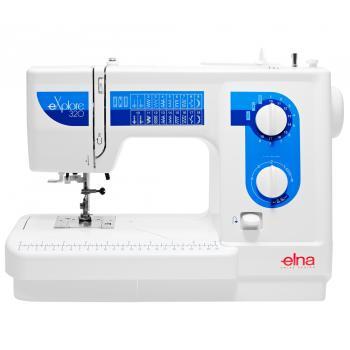 Maszyna do szycia Elna 320 eXplore + GRATIS 3 stopki, nici i szpulki