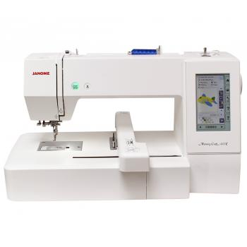 Hafciarka Janome MC400E + program hafciarski Janome Digitizer Jr 5.5