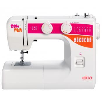 Maszyna do szycia Elna Sew Fun + GRATIS 3 stopki, nici i szpulki