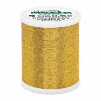 Nić hafciarska metalizowana 40, złota, 1000m