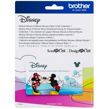 Kolekcja wzorów Disney Mickey Mouse do Brother ScanNcut