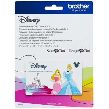 Kolekcja wzorów Disney Princess do Brother ScanNcut