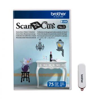 Pendrive z wzorami Home-Deco Brother ScanNcut