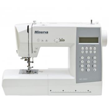 Maszyna do szycia Minerva MC250 + nici + szpulki GRATIS
