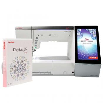 Maszyno-hafciarka Janome MC15000 + program hafciarski Janome Digitizer Jr 5.5