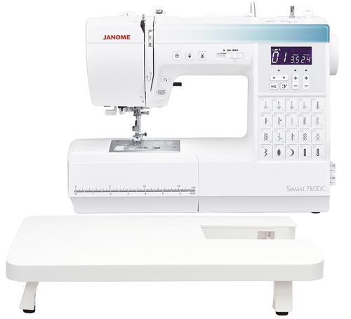 Maszyna do szycia JANOME 780DC ze stolikiem