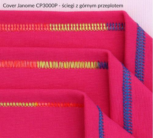 Cover JANOME CP3000P + GRATIS