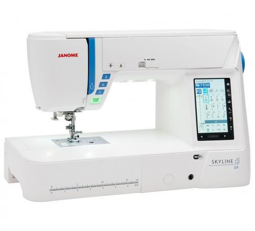 Maszyno-Hafciarka JANOME SKYLINE S9