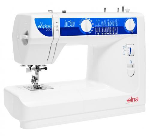 Maszyna do szycia Elna 220 eXplore + GRATIS nici