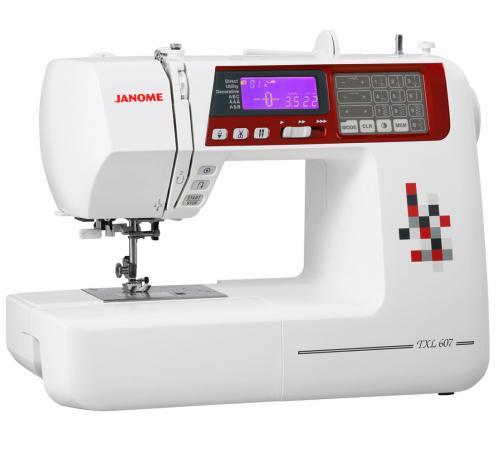 Maszyna do szycia JANOME TXL607 + GRATISY
