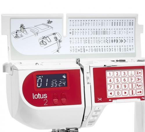 Maszyna do szycia Elna Lotus 2