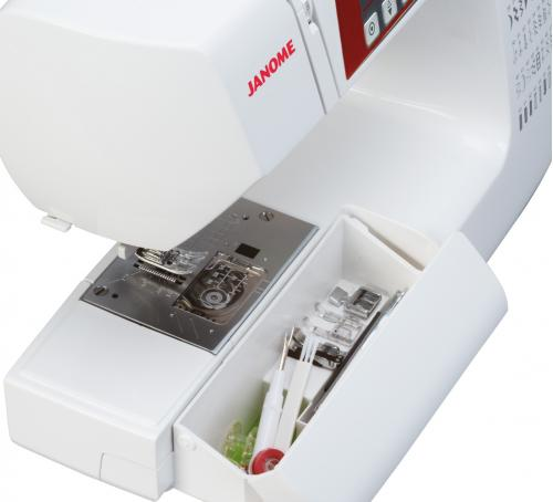 Maszyna do szycia Janome QXL605 + GRATIS nici + szpulki
