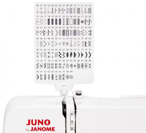 Maszyna do szycia JUNO J100 + GRATIS szpulki + nici