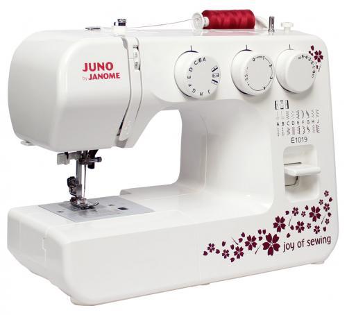 Maszyna do szycia JUNO E1019 + GRATIS szpulki + nici