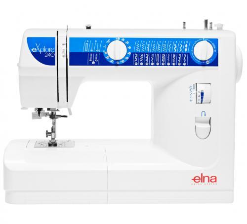 Maszyna do szycia Elna 240 eXplore + GRATIS 3 stopki, nici i szpulki