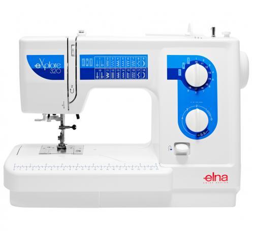 Maszyna do szycia Elna 320 eXplore + GRATIS nici + szpulki