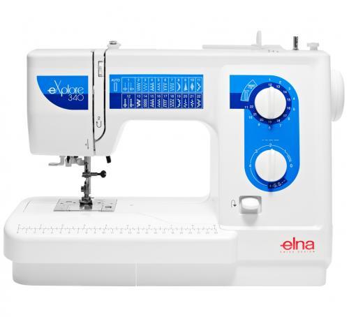 Maszyna do szycia Elna 340 eXplore + GRATIS nici + szpulki
