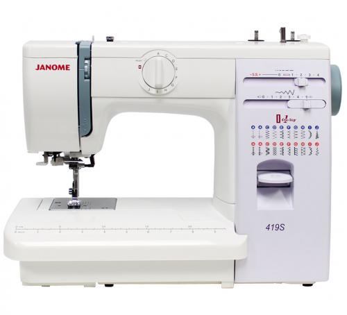 Maszyna do szycia Janome 419s + GRATIS nici + szpulki