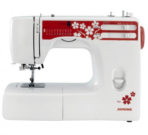 Maszyna do szycia Janome 920 + GRATIS 3 stopki + nici + szpulki