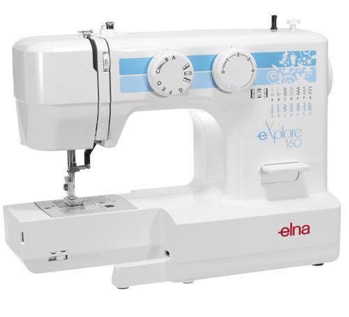 Maszyna do szycia Elna 160 eXplore + GRATIS 3 stopki, nici i szpulki