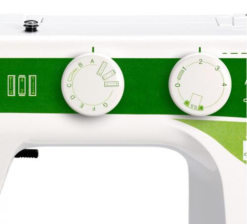 Maszyna do szycia Elna Sew Green + GRATIS 3 stopki, nici i szpulki