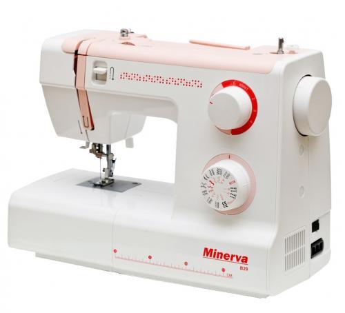 Maszyna do szycia Minerva B29 + nici + szpulki GRATIS