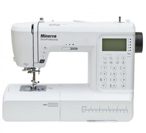 Maszyna do szycia Minerva Decor Professional + nici + szpulki GRATIS