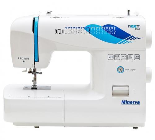 Maszyna do szycia Minerva Next 232D + nici + szpulki GRATIS